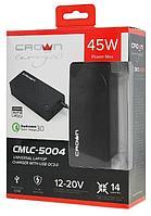 Универсальный блок питания для ноутбуков CROWN CMLC-5004, 45W