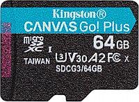 Карта памяти microSDXC 64Gb Kingston Canvas Go! Plus, SDCG3/64GB