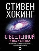 Книга «О Вселенной в двух словах», Стивен Хокинг, Твердый переплет