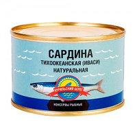 Курильский Берег сардина тихоокеанская иваси, 250 гр