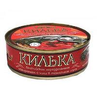 Laatsa килька балтийская, томатный соус, 240 гр