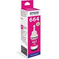Чернила Epson C13T66434A L100 Magenta ink bottle 70ml