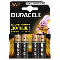 Батарейка DURACELL Basic АА LR6, 81545403, 1.5V, 4 шт