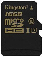 Карта памяти microSD 16Gb Kingston class10, SDCG/16GBSP