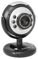 Веб-камера Defender G-lens C-110, 0.3 МП, USB, универсальное крепление