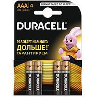 Батарейка DURACELL Basic ААА, 4шт