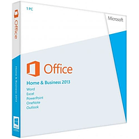 MS Office Home and Business 2013 32-bit/x64 Russian DVD Box, T5D-01762
