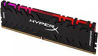 Оперативная память DDR4 3200/8Gb Kingston HyperX Predator RGB, HX432C16PB3A/8