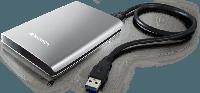"Внешний HDD 2.5"" 2Tb Verbatim Store 'n' Go 53189, USB 3.0, Silver"