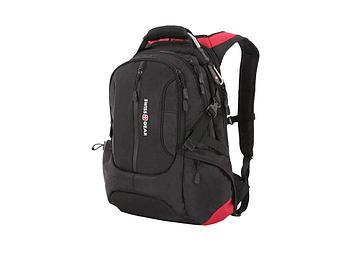 Рюкзак SWISSGEAR, 15, полиэстер 1200D, 36х17х50 см, 30 л, черный/красный
