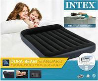 Матрас надувной с подголовником INTEX Pillow Rest Classic Airbed (64142, 137х191х25 см)