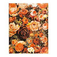 Роспись по холсту «Миллион цветов» по номерам с красками по 3 мл+ кисти+инстр+крепеж, 30 × 40 см