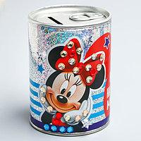 Копилка для декорирования стразами 'Коплю на заветную мечту', Микки Маус и его друзья