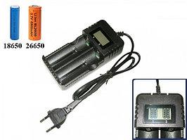 Зарядное устройство HD-8991B для 2 аккумуляторов 18650 и других