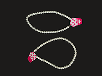 """Подарок - бусы цвета """"белый жемчуг"""" (ожерелье) 1шт"""