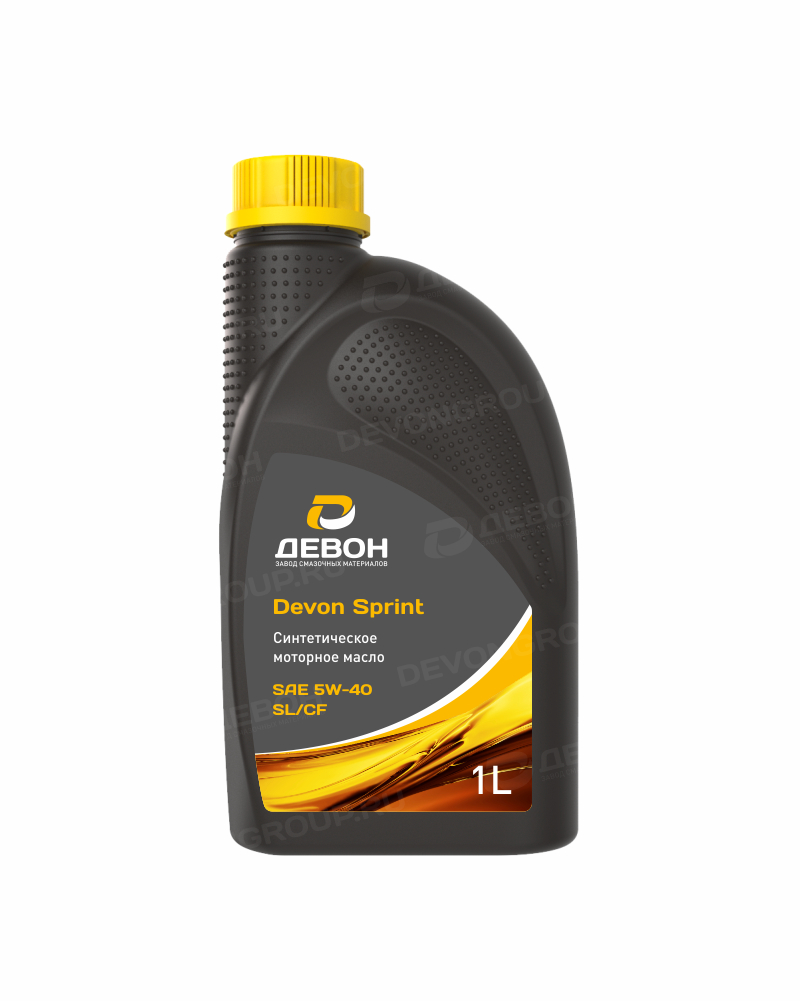 Масло моторное Devon Sprint SAE 5W-40 SL/CF - 1 л