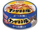 INABA 115г Японский тунец с вялеными кусочками тихоокеанского тунца консервы для кошек