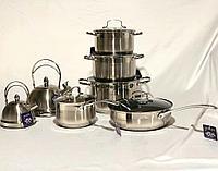 Набор кастрюль Vicalina 8140 c чайником