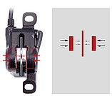 Гидравлические тормоза для велосипеда BLOOKE, двухпоршневые, дисковые., фото 2