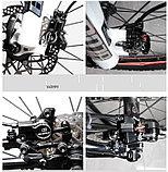 Гидравлические тормоза для велосипеда BLOOKE, двухпоршневые, дисковые., фото 4