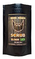 Скраб эликсир для лица и тела Neon Beard 200мл в ассортименте