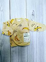 Распашонка Claris бананы 56 р