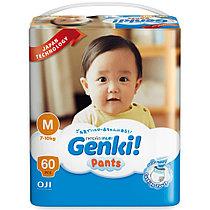 Трусики Genki размер M (7-10кг)  60 штук