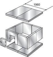 Расширительный пояс 300 мм для холодильных камер КХН-11.75