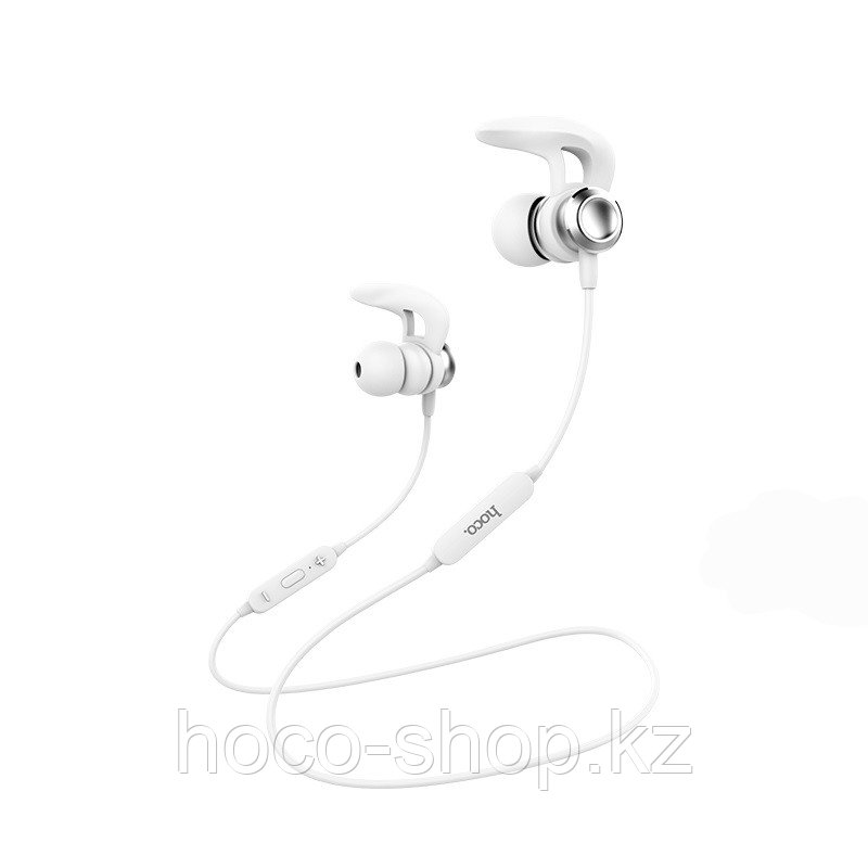 Беспроводные наушники Hoco ES22 Flaunt спортивные с микрофоном, белый