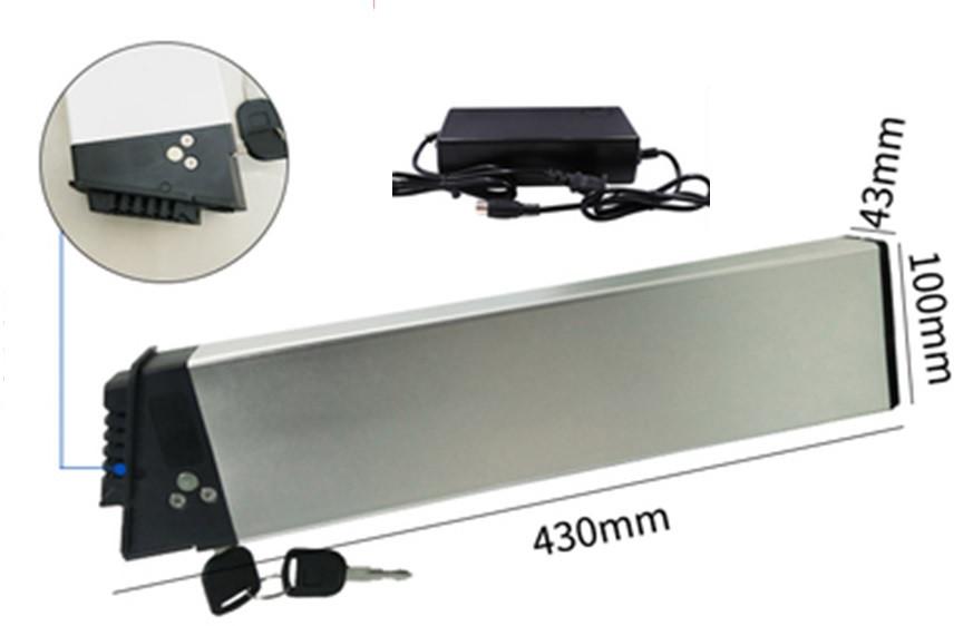 Аккумуляторы в раму Samsung Li-ion 48v 10,4 A/H + зарядное 48v для эл. велов до  500w