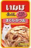 INABA 60г Микс из тихоокеанского тунца и японского тунца-бонито влажный корм для кошек