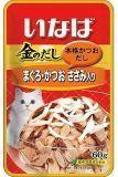 INABA 60г Микс из тихоокеанского тунца, парного филе курицы и японского тунца-бонито влажный корм для кошек