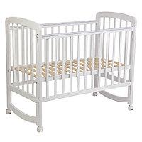 Детская кроватка Simple 304, белый (Polini kids, Россия)
