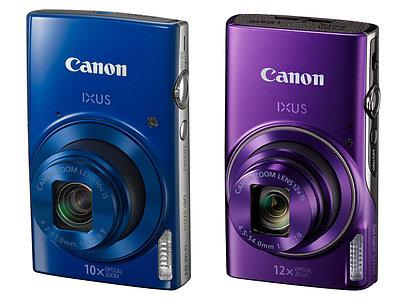 Фотоаппарат Canon IXUS 285 HS, черный