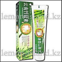 Зубная паста гигиеническая с бамбуковой солью Bamboo Salt Su с отбеливающим эффектом.