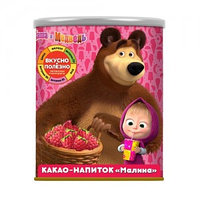 Маша и Медведь какао напиток со вкусом малины, 350 гр