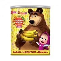 Маша и Медведь какао напиток со вкусом банана, 350 гр