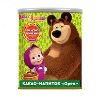 Маша и Медведь какао напиток со вкусом лесного ореха, 350 гр