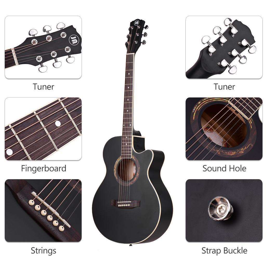 Гитара акустическая с вырезом R. Empire YWAG-A040C