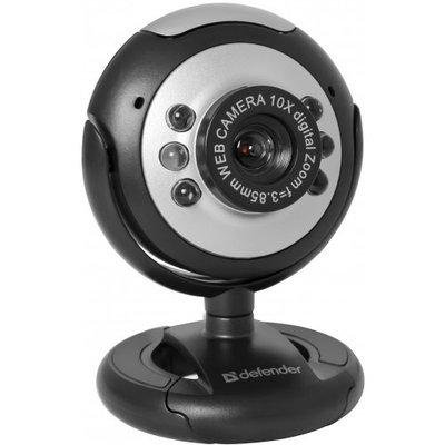 Веб-камера C-110 0.3 МП, подсветка, кнопка фото