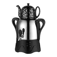 Электросамовар восточный REDMOND {3+1,2л} с керамическим заварочным чайником (Черный)