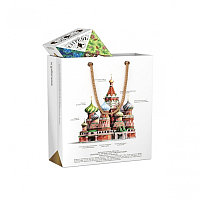 Подарочный набор СУГРЕВЪ «Храм Василия Блаженного» с 6 чаями , Разные цвета, -, 90001 а