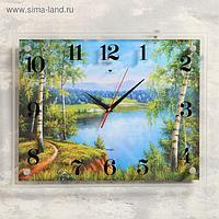 """Часы настенные, серия: Природа, """"Природа"""", 35х45 см, микс"""