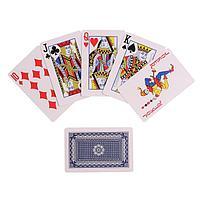 """Карты игральные бумажные """"177"""" 55 шт, 280 гр/м2, 8.7х5.6 см"""