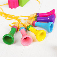 Музыкальная игрушка 'Дудочка на верёвочке', цвета микс