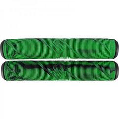 Грипсы Striker Thick Logo Pro Scooter Grips Black/Green