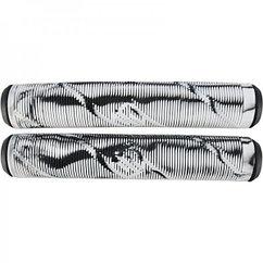Грипсы Striker Thick Logo Pro Scooter Grips Black/White