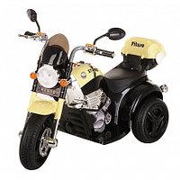 PITUSO Электро-Мотоцикл MD-1188, 6V/4Ah*1, колеса пластик 90х43х54 см, Black-beige /Черно-Бежевый, фото 1