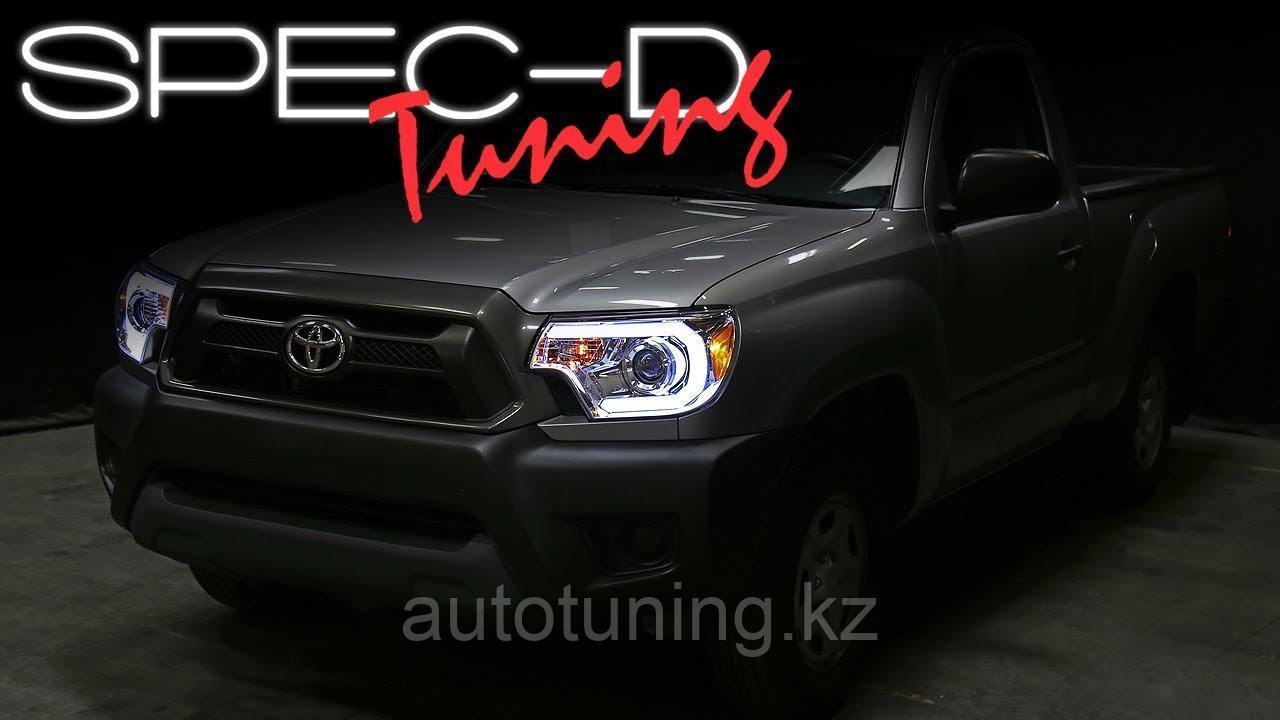 Альтернативная оптика (передние фары тюнинг)  на Toyota Tacoma 2011-2015