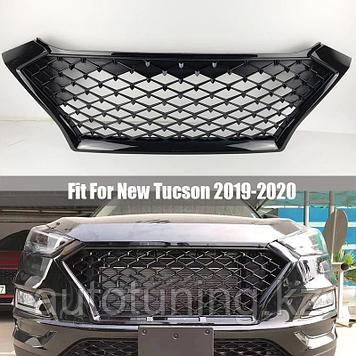 Решетка радиатора SPORT (N Line) на Hyundai Tucson 2018-2021 г.в.
